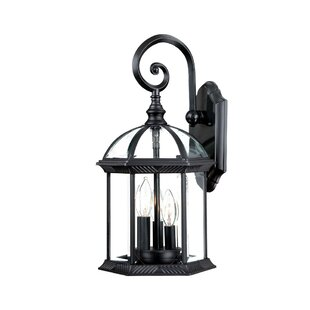 Savings Grenville 3-Light Outdoor Wall Lantern By Darby Home Co