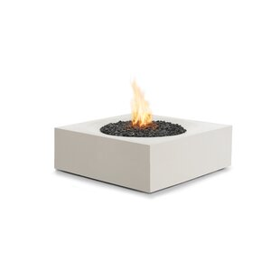 Solstice Concrete Gas Fire Pit Table