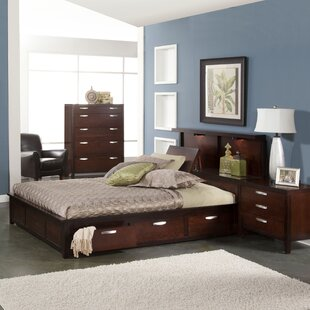 Vista Storage 2 Piece Bedroom Set by Fairfax Home Collections