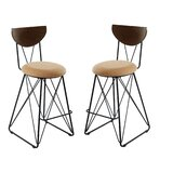 Bipasha Bar & Counter Stool (Set of 2) by Brayden Studio®