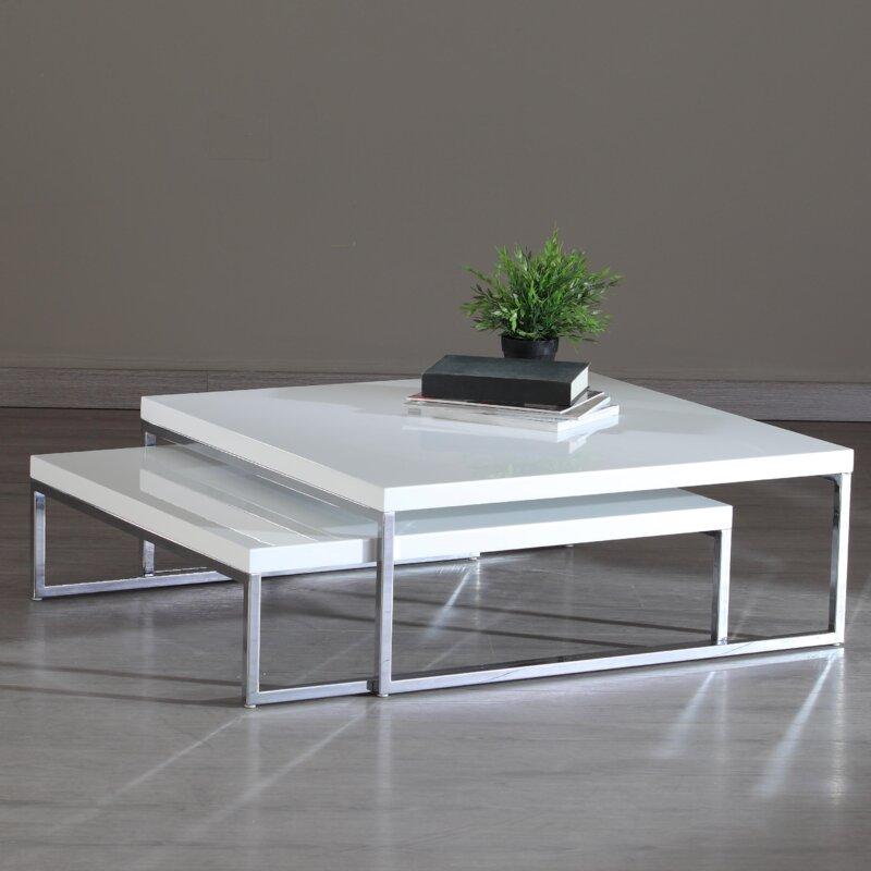 La Viola Dcor Tweens 2 Piece Nesting Tables