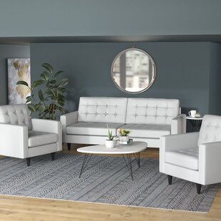 Reviews Warren 3 Piece Living Room Set by Langley Street Reviews (2019) & Buyer's Guide