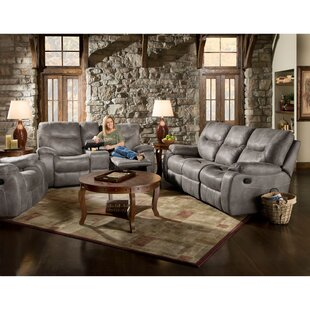 Daub Reclining 3 Piece Living Room Set Red Barrel Studio