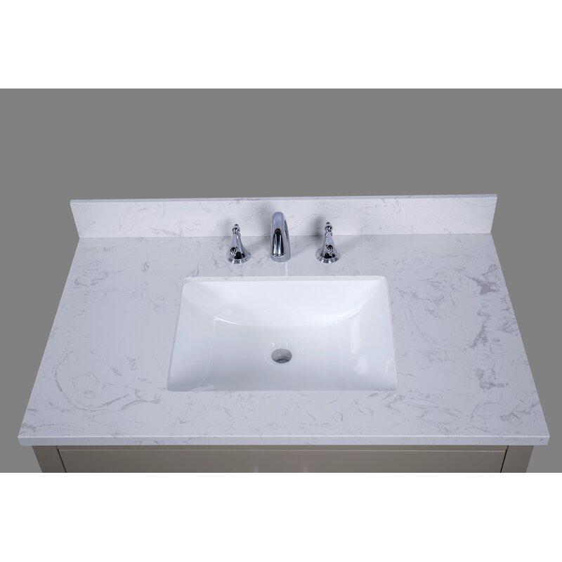 Bari 37 Single Bathroom Vanity Top