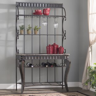 Alvah Iron Baker's Rack by Fleur De Lis Living