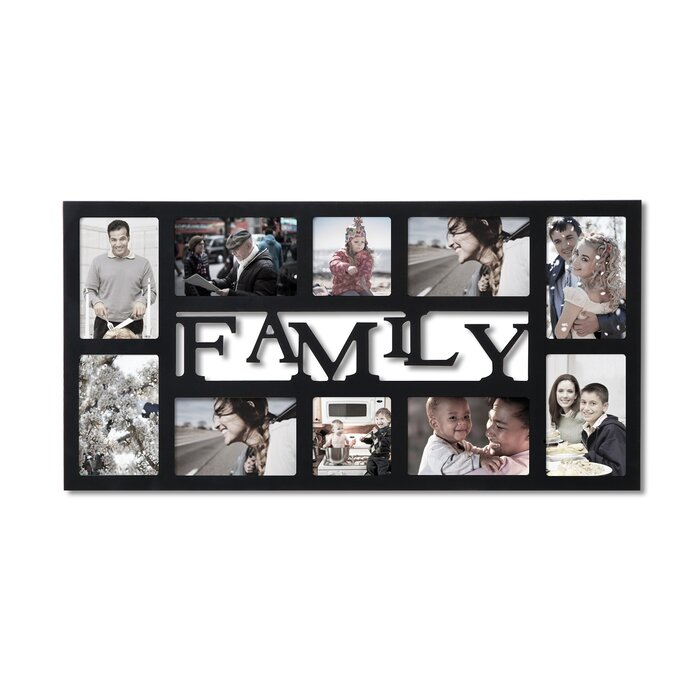 Fantastic 10 Opening Collage Picture Frame Embellishment