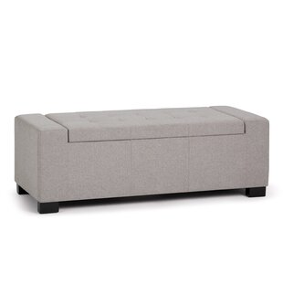 Latitude Run Asdsit Large Upholstered Storage Bench