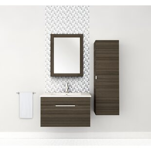 Cutler Kitchen & Bath Textured Wall Mirror
