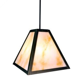 Steel Partners Timber Ridge 1-Light Outdoor Pendant