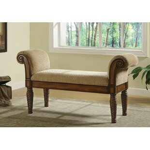 Beery Wood Bench by Fleur De Lis Living Great price