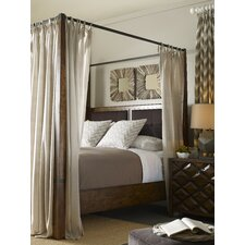 Segula Upholstered Canopy Bed by Loon Peak