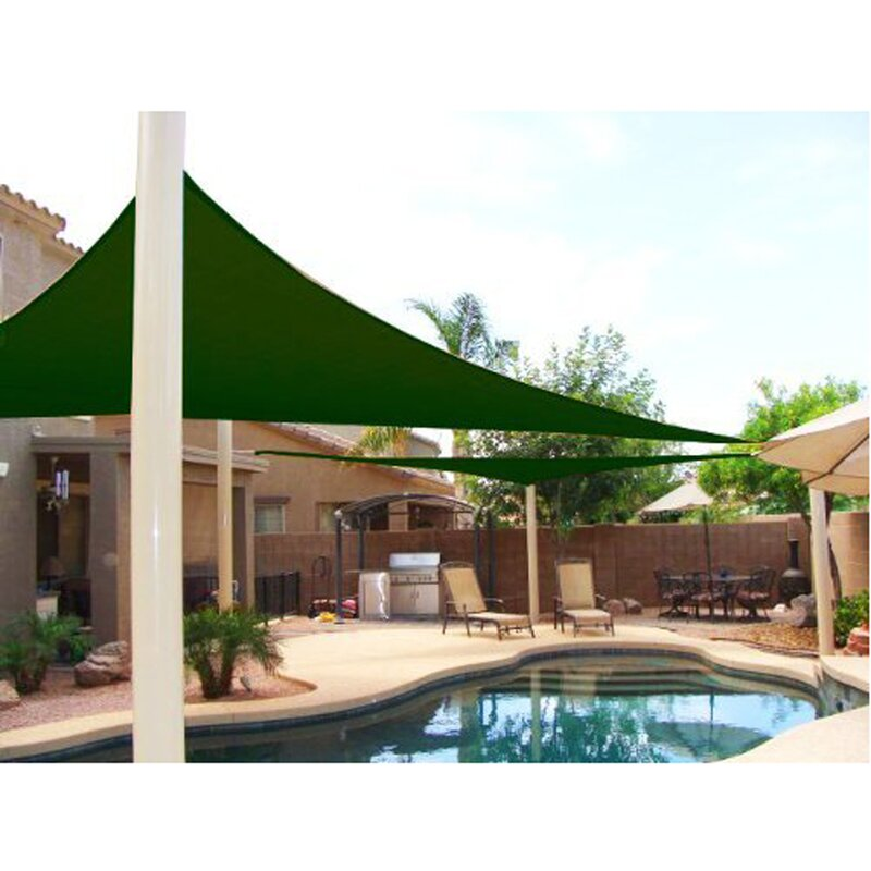 ALEKO 12 Triangle Shade Sail