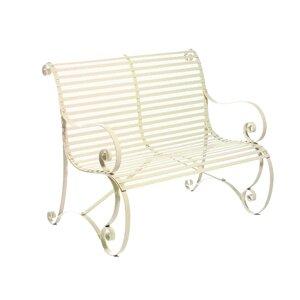 2-Sitzer Gartenbank King's aus Metall von P..