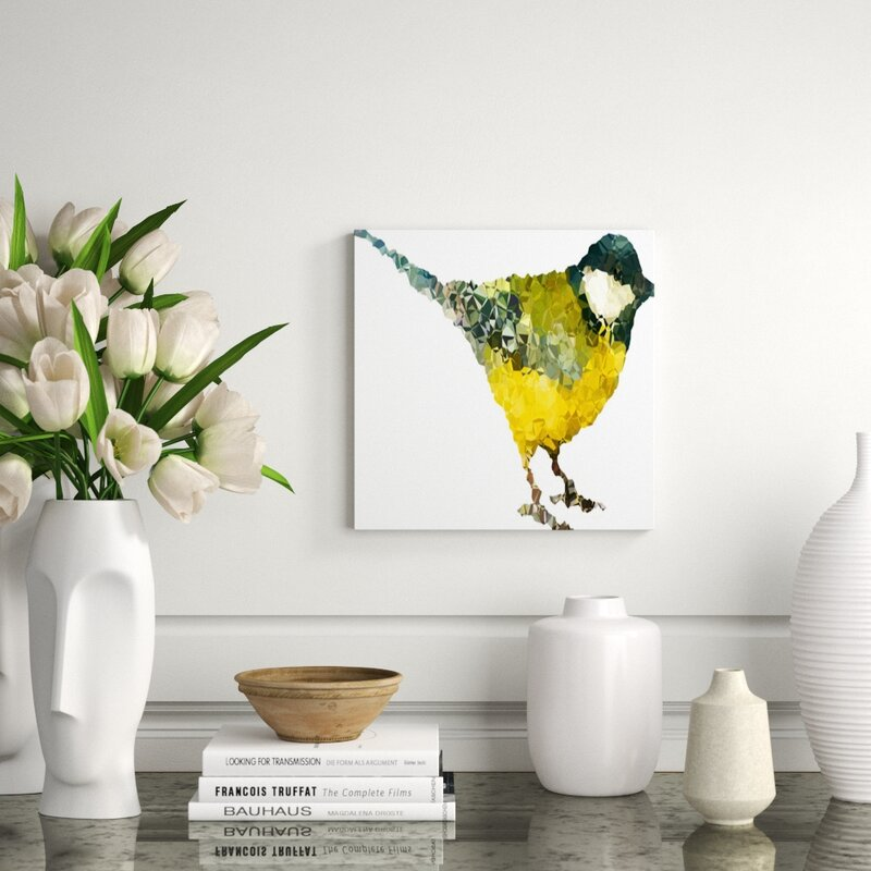 Chelsea Art Studio Feathered Mosaic Ii By Emma Brooks Wrapped Canvas Graphic Art Print