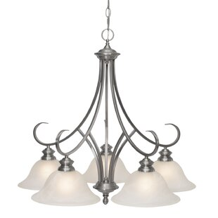 Red Barrel Studio Maitland 5-Light Shaded Chandelier