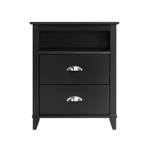 Pembrooke Traditional 2 Drawer Nightstand by Beachcrest Home Today Only Sale