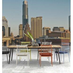Asphodèle Outdoor Recycle Teak 7 Piece Dining Set by Gracie Oaks Discount