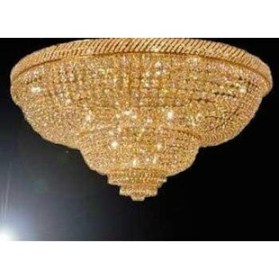 Astoria Grand Lohmann 9-Lights LED Flush Mount