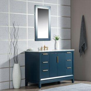Tappahannock 48 Single Bathroom Vanity Set with Mirror by Ivy Bronx