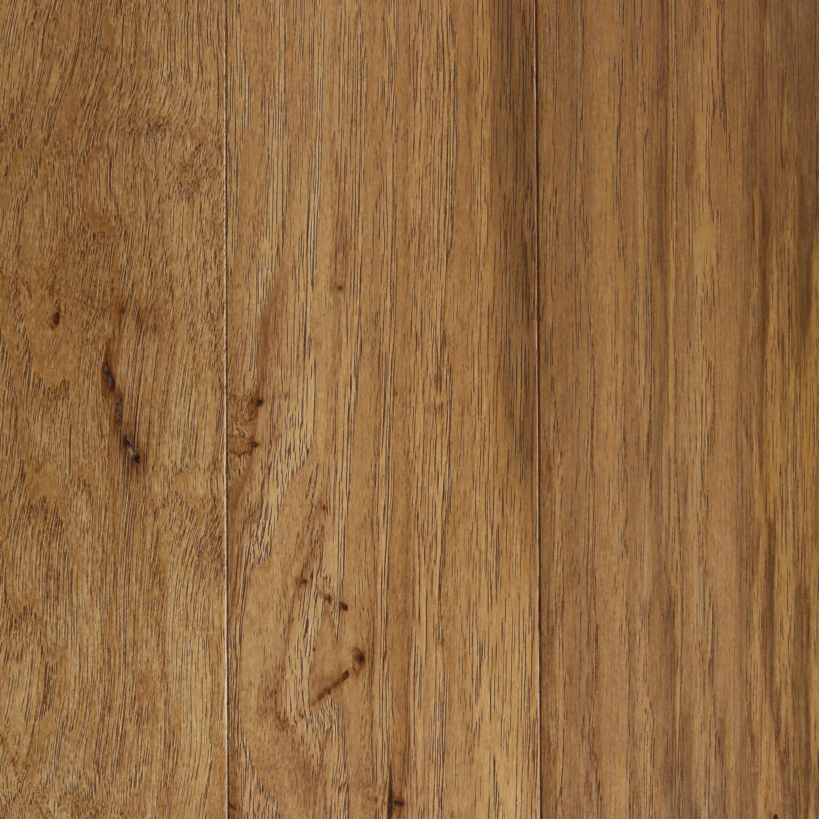 Prague Hickory 3 8 Thick X 5 Wide X Varying Length Engineered Hardwood Flooring