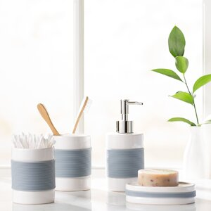 Hardy 4 Piece Bathroom Accessory Set