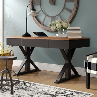 Laurel Foundry Modern Farmhouse Deary Adjustable Height Standing Desk