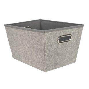 Savings Open Storage Tote Fabric Bin (Set of 2) ByHome Basics