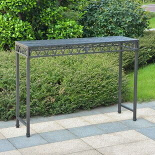 Oak Bluffs Iron Console Table By Fleur De Lis Living