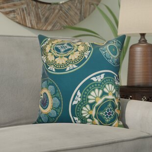 Soluri Medallions Outdoor Throw Pillow