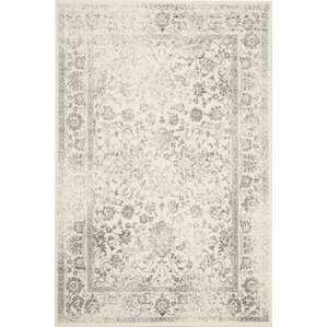 Southern Ivory Silver Area Rug