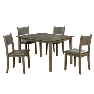 Ryley 5 Piece Dining Set Millwood Pines