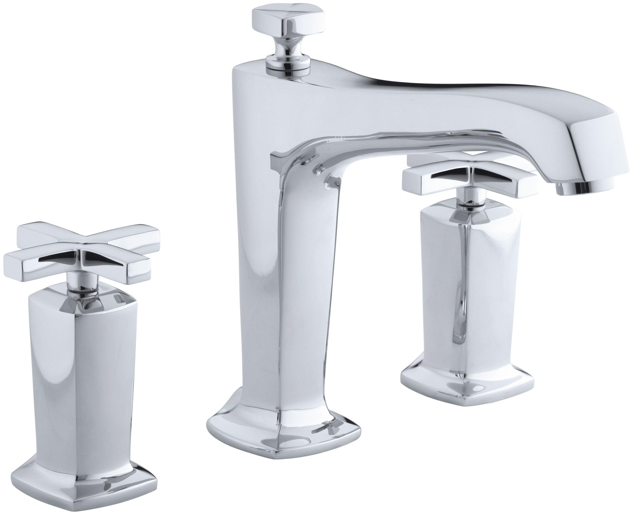 K-T16237-3-AF,BN,BV Kohler Margaux Deck-Mount Bath Faucet Trim for ...