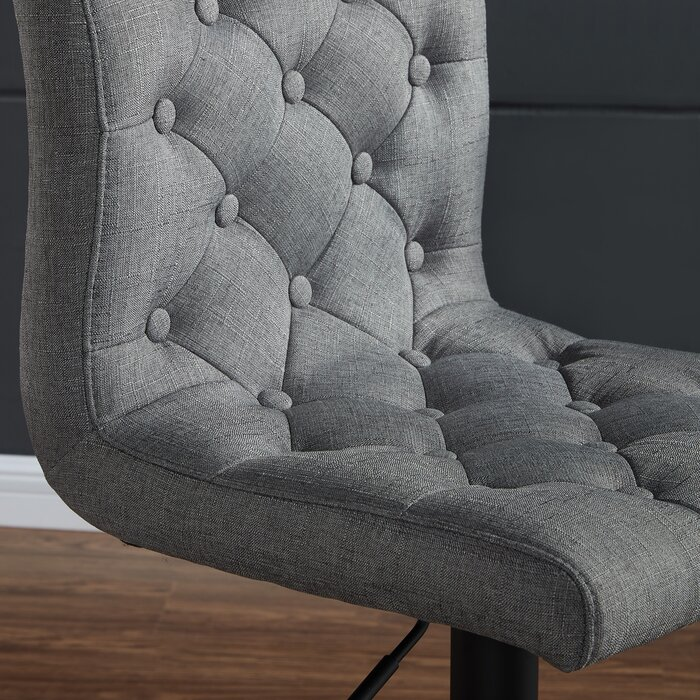 Surprising Witney Adjustable Height Swivel Bar Stool Ncnpc Chair Design For Home Ncnpcorg