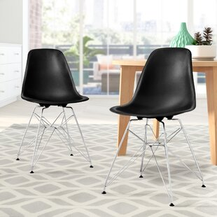 Brook Modern Upholstered Dining Chair (Set of 2) by Langley Street