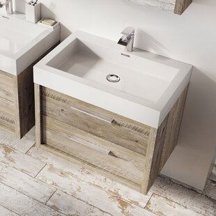 Charest 750mm Wall Mount Vanity Unit by Belfry Bathroom