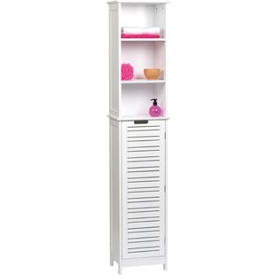 Best Reviews Miami 13.8 W x 68 H Linen Tower ByEvideco