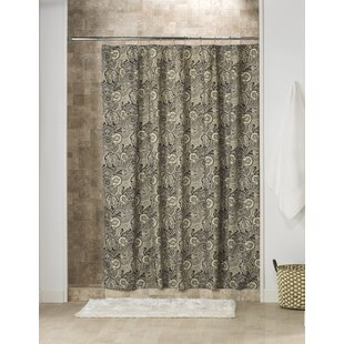 Top Duane Cotton Shower Curtain ByAstoria Grand