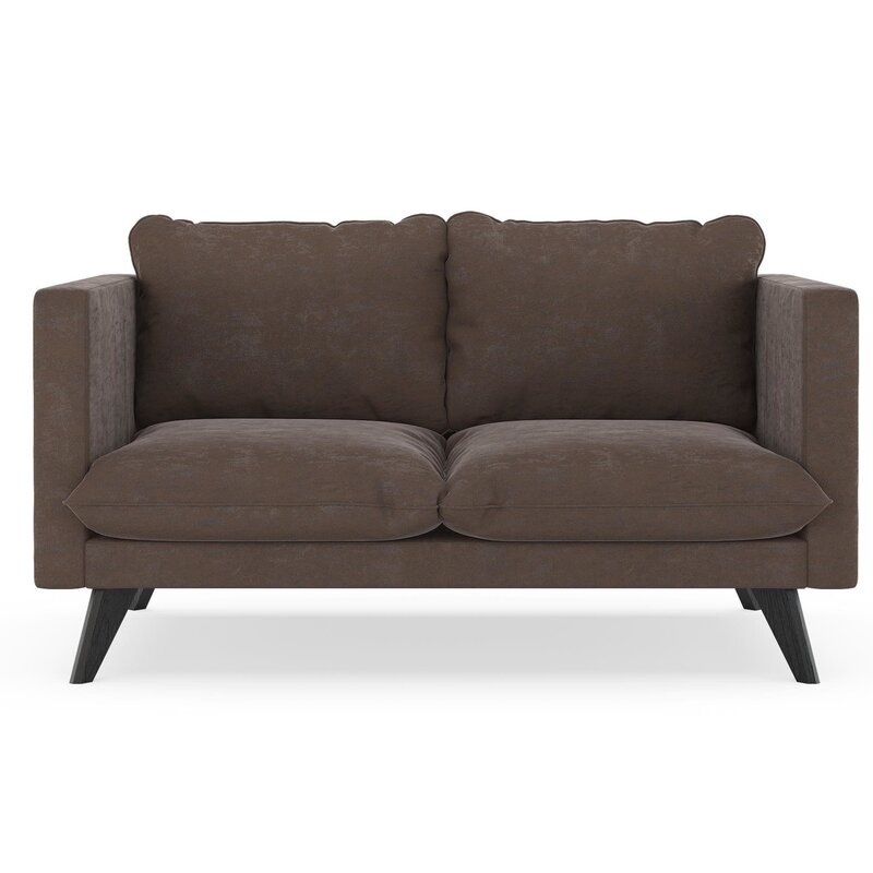 Cowgill Micro Suede Loveseat