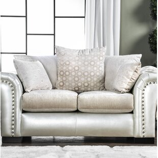 Calton Contemporary Loveseat by Latitude ..