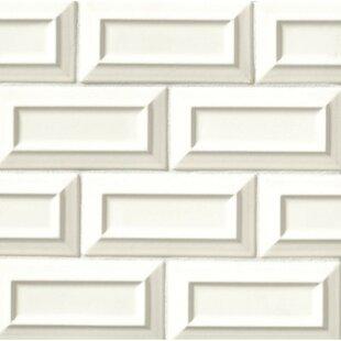 Portofino 3 x 6 Beveled Ceramic Subway Tile