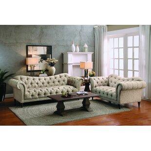 Willa Arlo Interiors Burna Configurable Living Room Set