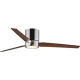 """56"""" Tucker 3 -Blade LED Standard Ceiling Fan with Remote Control and Light Kit Included"""