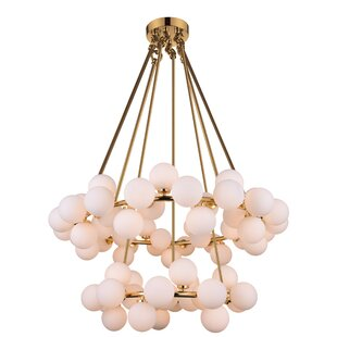 CWI Lighting Arya 70-Light Wagon Wheel Chandelier