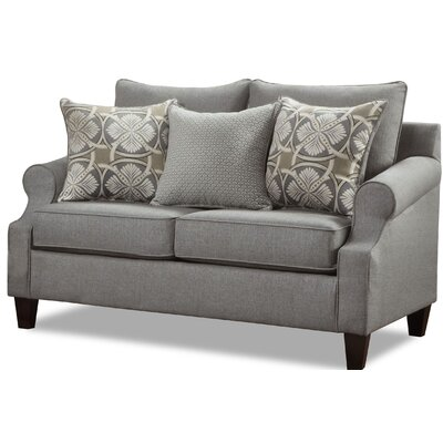 Arispe Loveseat Upholstery Color: Bay Ridge Gray by Darby Home Co