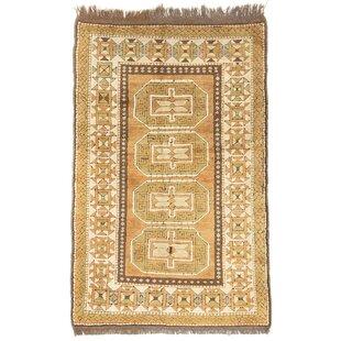 Sherwood Handwoven Wool Beige Green Brown Rug