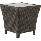 Allerone  Glass  Side Table