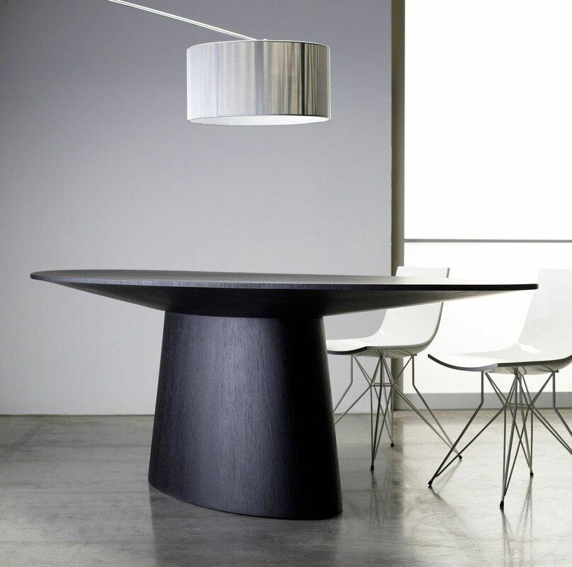 Modloft Sullivan Oval Dining Table & Reviews | Wayfair