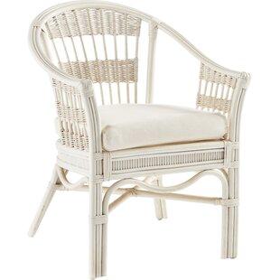 South Sea Rattan Bermuda Arm Chair