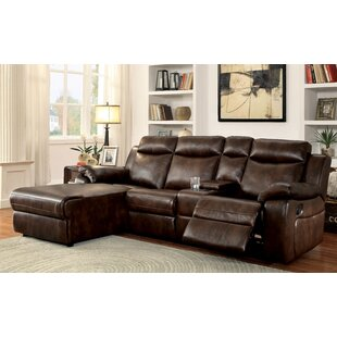 Red Barrel Studio Hooten Reclining Sectional