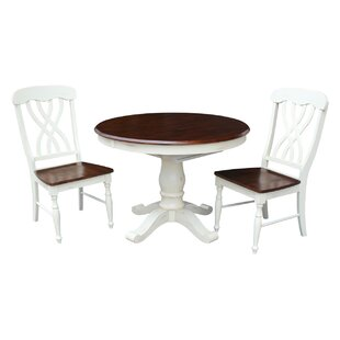 Lewis 3 Piece Dining Set August Grove